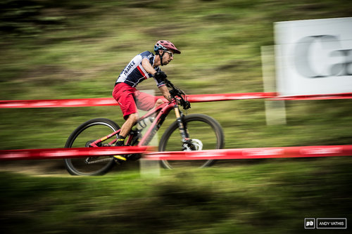 Second place for France s eMtb National Champ Jerome Gilloux.